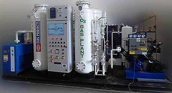 PSA Oxygen Gas Generators | Manufacturers | Exporters